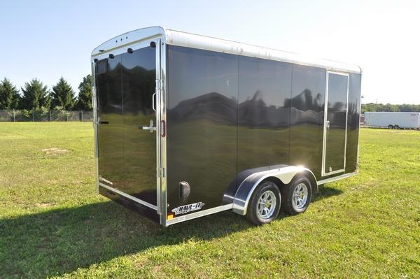 2019 Haul-it 7 x 16 Round Top Enclosed Cargo Trailer For Sale