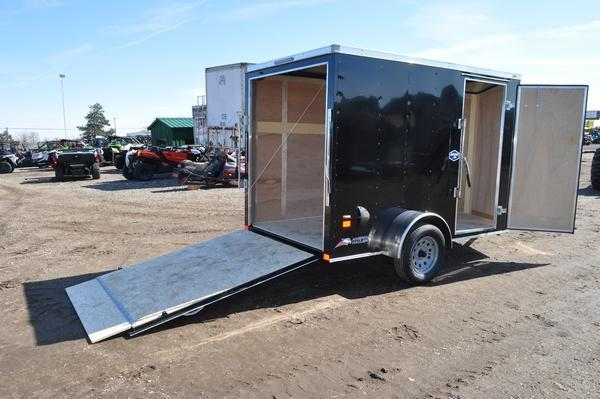 2020 American Hauler 6 x 10 Wedge Nose Enclosed Cargo Trailer For Sale