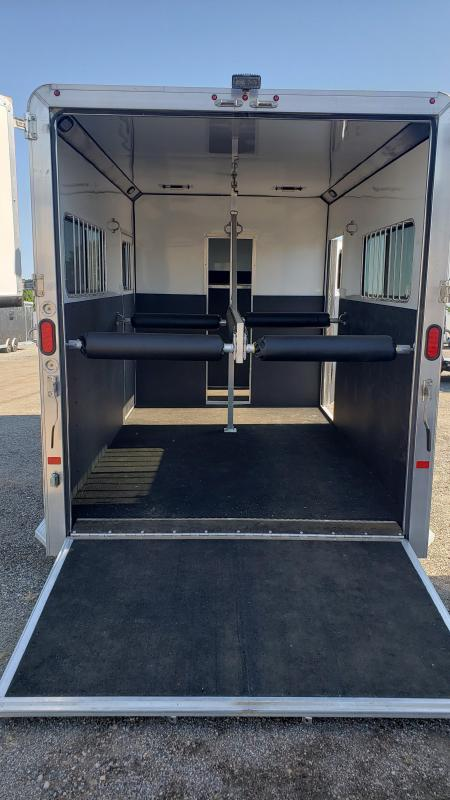 2017 Frontier 2 place horse Trailer for sale Michigan