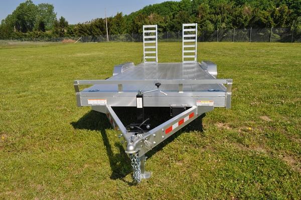 2021 Sure-Trac 7 x 20 All Aluminum 10K Equipment Trailer For Sale