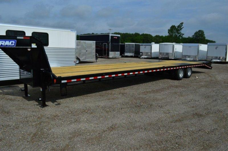 2019 Sure-Trac 8.5 x 35 + 5 Deckover Gooseneck Dually Trailer For Sale