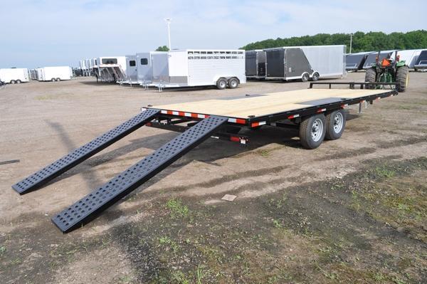 2020 Sure-Trac 8.5 X 20 Flat Deck 10K Deckover For Sale