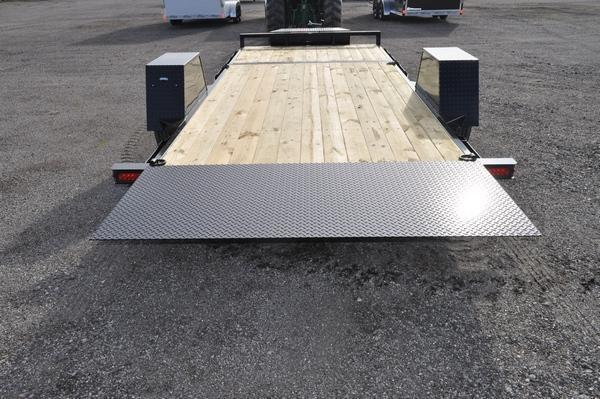 2021 Sure-Trac 78 IN x 12+4 Single Axle Tilt Bed Equipment Trailer for Sale