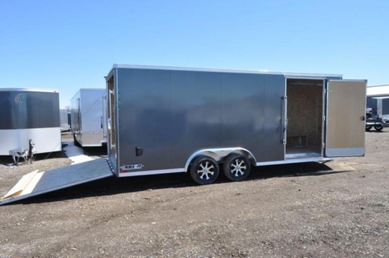 2020 Haul-It 8.5 x 20 All Aluminum Wedge Nose Enclosed Cargo Trailer For Sale