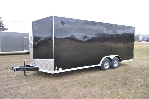 2021 Discovery Trailers 8.5 x 20 Enclosed 10K W/Windows Car / Racing Trailer For Sale