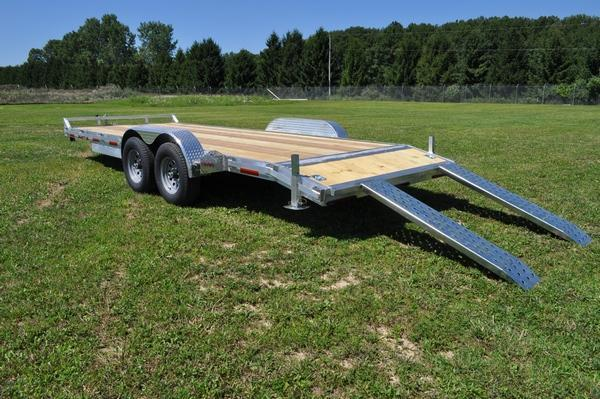 2021 Haul it All Aluminum 82 x 20 Open 10K Car Racing Trailer For Sale