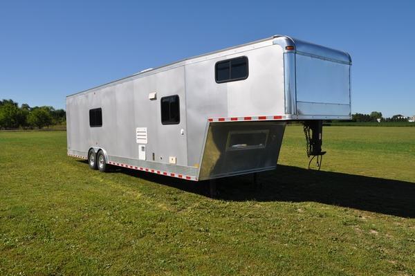2011 Middlebury Trailers 8.5 x 38 Gooseneck LOADED Enclosed Cargo Trailer