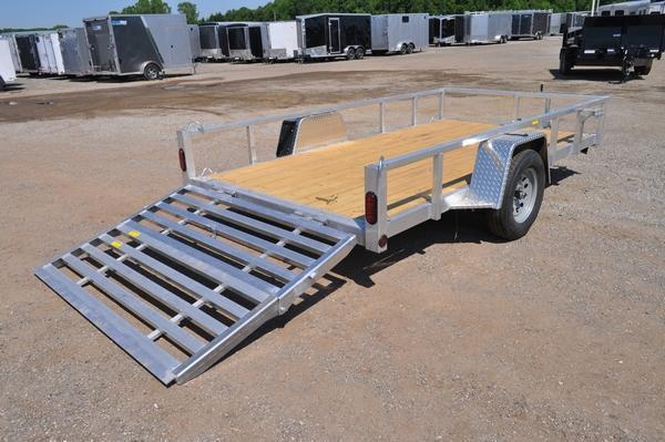 "2021 Haul-it 74"" x 12' All Aluminum Utility Trailer For Sale"