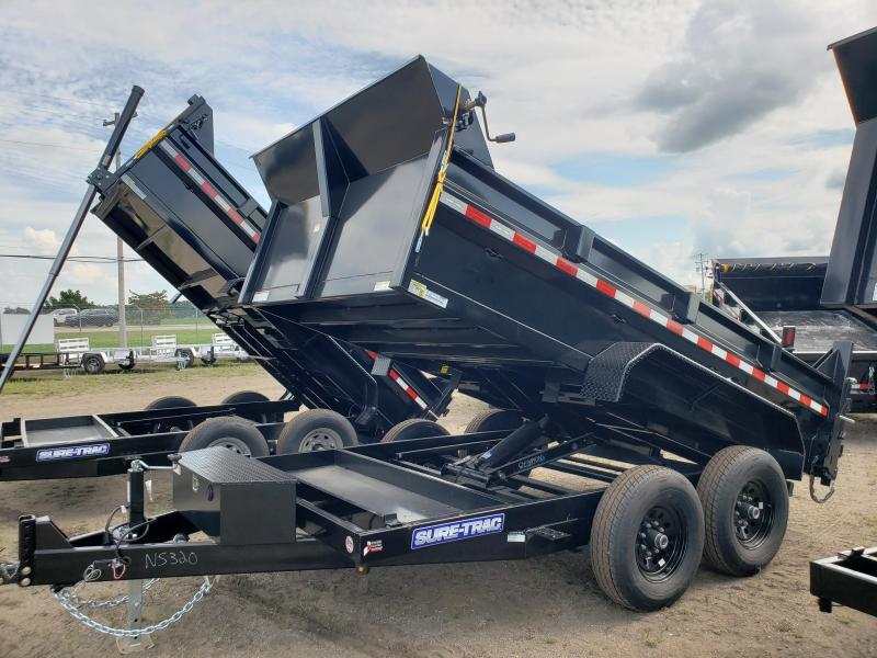 2021 Sure-Trac 82x12 HD Low Profile Dump Trailer For Sale.
