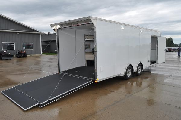 2020 Haul-it 8.5 x 24 LOADED Enclosed Car / Racing Trailer For Sale