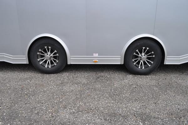 2022 inTech Trailers 8.5 x 30 All Aluminum Wedge Nose Car / Racing Trailer For Sale