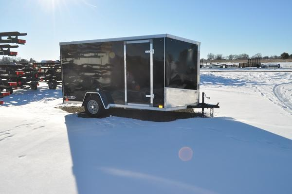 2021 Haul-it 6 x 12 Wedge Nose Enclosed Cargo Trailer For Sale