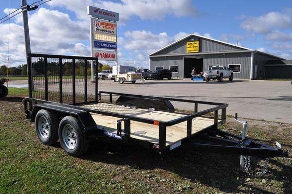 2021 Sure-Trac 7 x 12 Tube Top Tandem Axle Utility Trailer for Sale