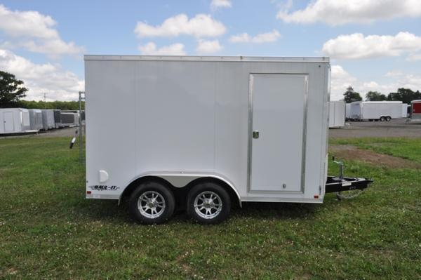 2019 Haul-it 7 x 12 Wedge Nose Enclosed Cargo Trailer For Sale