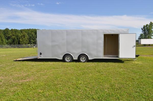 2020 Haul-it 8.5 x 24 Wedge Nose Car / Racing Trailer W/Full Escape Door for Sale
