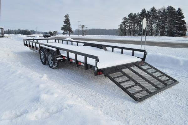 2021 Sure-Trac 7 x 24 Tube Top Heavy Duty 10K Utility Trailer for Sale