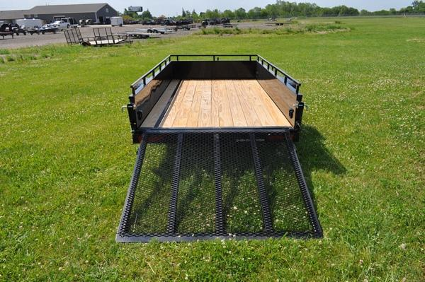 2021 Sure-Trac 5 x 10 Steel High Side Trailer  3K Utility Trailer for Sale