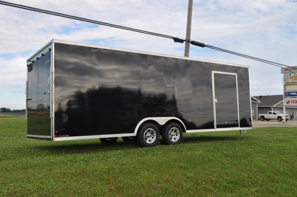 2021 Sure-Trac 8.5 x 24 Pro Series Enclosed Wedge Car Trailer for Sale