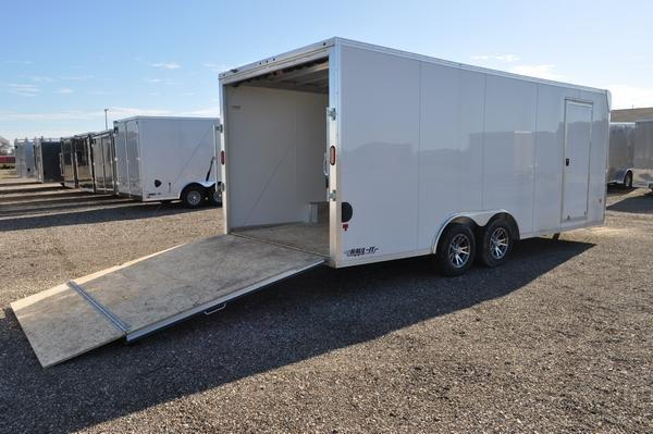 2018 EZ Hauler All Aluminum 8.5 x 20 Enclosed Car / Racing Trailer For Sale