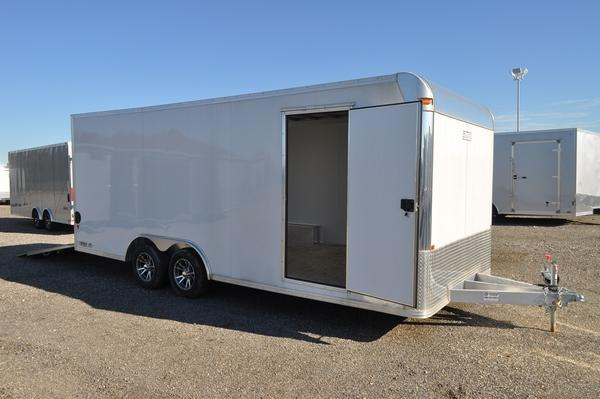 2018 EZ Hauler All Aluminum 8.5 x 20 Enclosed Car / Racing Trailer For Sale