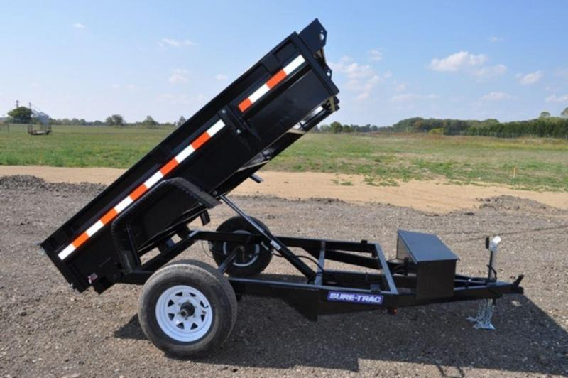 2019 Sure-Trac 5 x 8 Power Dump Trailer For Sale