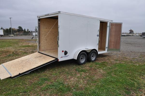 2021 American Hauler 7 x 14 Wedge Nose Enclosed Cargo Trailer For Sale