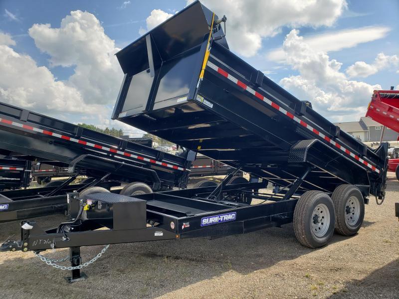 2022 Sure-Trac 82 IN x 14 HD Low Profile Dump Trailer For Sale.