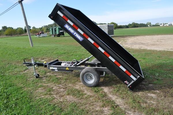 2020 Sure-Trac 4.5 x 8 Power Homeowners Dump Trailer For Sale