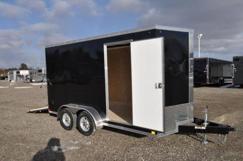 2019 Haul-It 7 x 14 Enclosed Cargo Trailer w/ 7 ft Interior For Sale