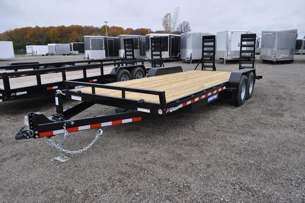2021 Sure-Trac 7 x 20 (18+2) Equipment Trailer  14K For Sale