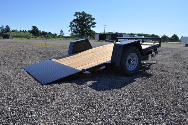 2021 Sure-Trac 78 IN x 12 Single Axle Tilt Bed Equipment Trailer for Sale