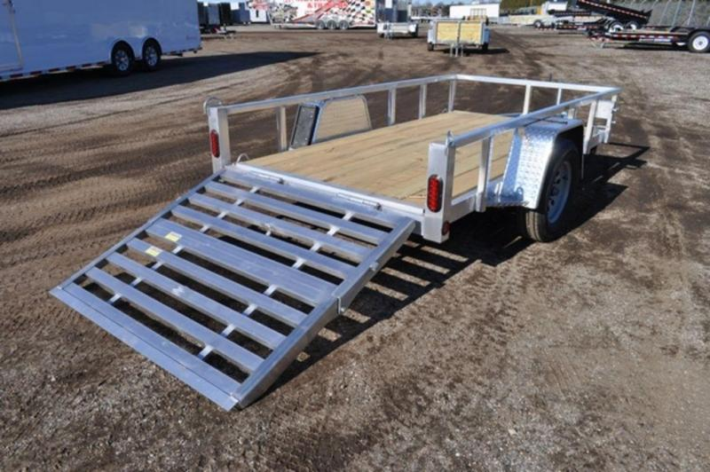 2020All Aluminum 5 x 10 Tube Top Utility Trailer for Sale
