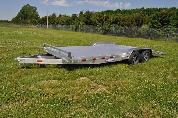 2021 Sure-Trac 7 X 20 (16+4) C-Channel Aluminum Car For Sale