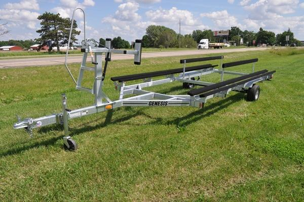 2020 Genesis 20' Float on Pontoon Trailer Watercraft Trailer For Sale