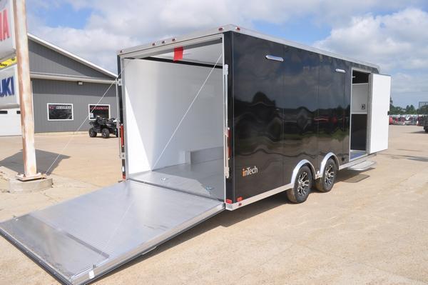 2019 inTech Trailers 8.5 x 20 Enclosed Car Trailer for Sale Car / Racing Trailer