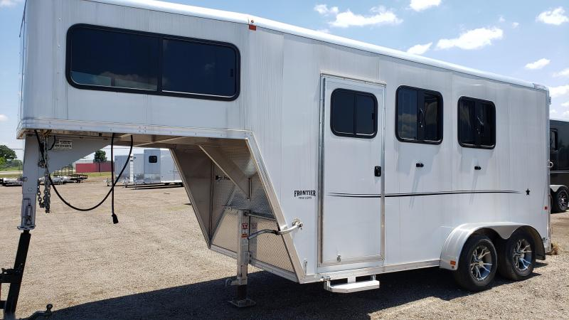 2017 Frontier Strider series Horse Trailer for sale Michigan.
