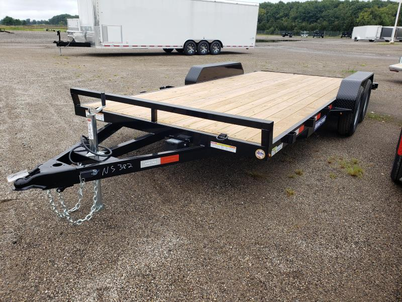 2021 Sure-Trac 7X18 (14+4) Car / Racing Trailer For Sale.