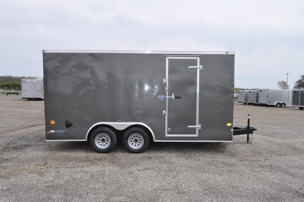 2021 American Hauler 8.5 x 16 Wedge Nose Enclosed Cargo Trailer For Sale