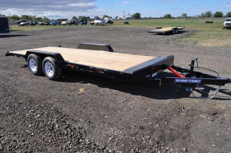 2019 Sure-Trac 7 x 20 Open 10K Manual Tilt Car Trailer For Sale
