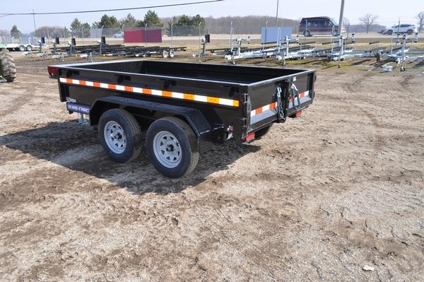2021 Sure-Trac 5 x 10 Tandem Axle Homeowners Dump Trailer For Sale
