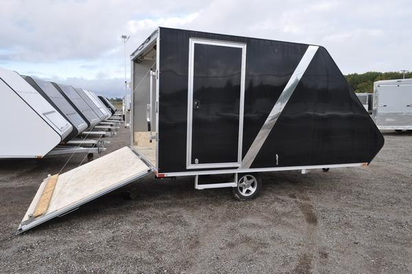 2020 Sport Haven 101 x 13' Deluxe Hybrid Snowmobile Trailer For Sale