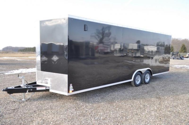 2019 Haul-It 8.5 x 24 Enclosed Car Trailer w/ 7 ft Interior For Sale