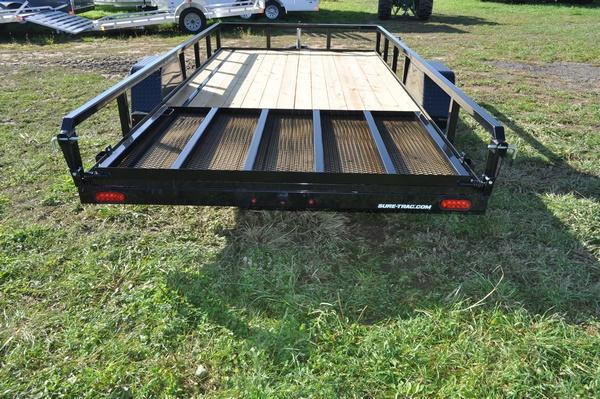 2020 Sure-Trac 7 x 14 Tube Top 5K Utility Trailer For Sale
