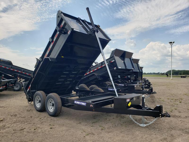 2021 Sure-Trac 82x12 HD Low Profile Telescopic Dump Trailer For Sale.