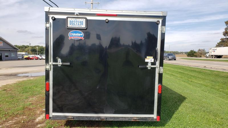 2014 United Trailers 7x16 Motorcycle Trailer