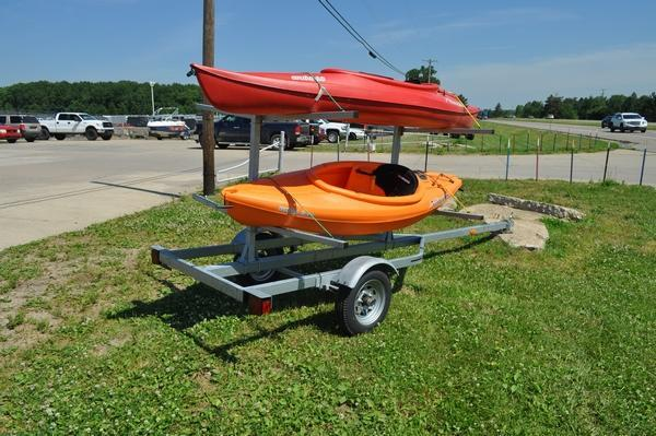 2021 Genesis Galvanized Kayak Trailer Watercraft Trailer
