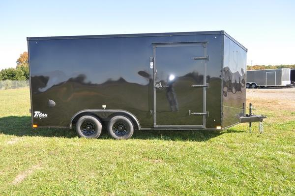 2021 Stealth Trailers 8 5 x 16 Wedge Nose Blacked Out Enclosed Cargo Trailer For Sale