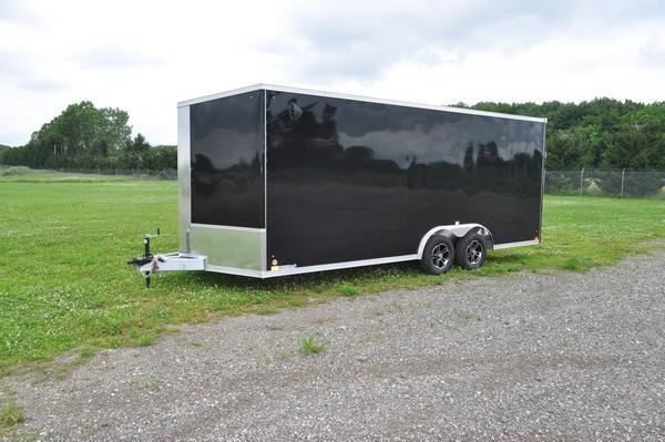 2022 Haul-it All Aluminum 8.5 x 20 Wedge Nose Car / Racing Trailer For Sale