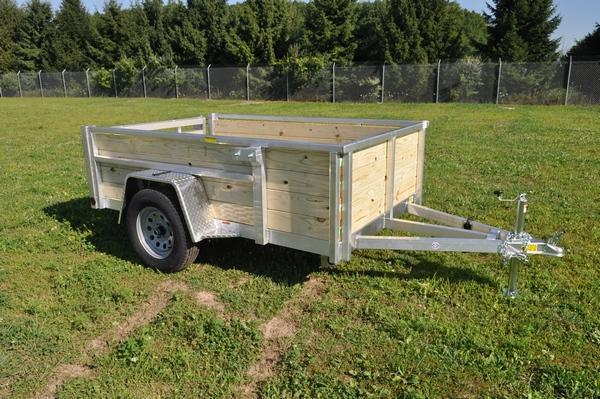 2021 Haul-it 5 x 8 4 Board High Utility Trailer For Sale
