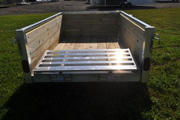 2021 Haul-it 5 x 8 4 Board High Utility Trailer For Sale
